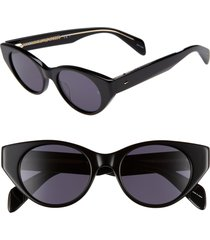 women's rag & bone 49mm cat eye sunglasses -