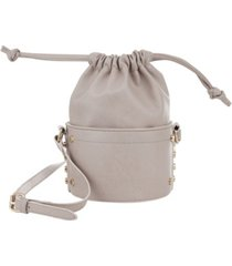 kensie women's fashion drawstring bucket bag
