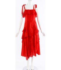 tanya taylor mimi cotton dress