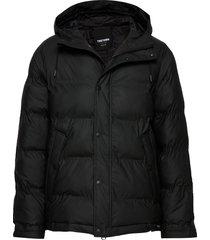 baffle jacket fodrad jacka svart tretorn