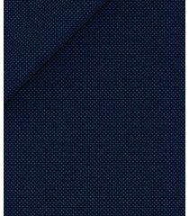 pantaloni da uomo su misura, reda, icon blu occhio di pernice, quattro stagioni | lanieri
