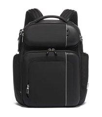tumi arrive barker backpack - black