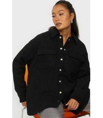 selected femme slftessa wool shirt jacket b övriga jackor