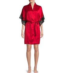 plume wrap robe