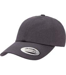 gorra dad cap gris oscuro 6245 cm