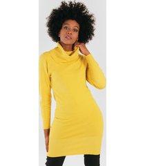 mini vestido iso amarillo night concept