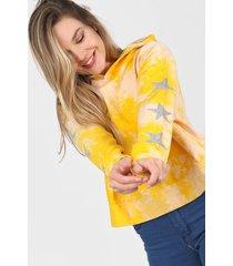 buzo amarillo nylon