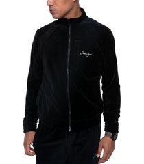 sean john men's classic velour full-zip track jacket
