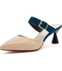 zapatillas de punta estrecha para mujer sandalias de mujer en color
