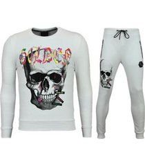 trainingspak enos skinny trainingspak - joggingpak goedkoop - color skull -