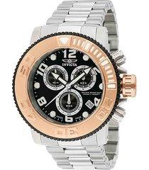relógio invicta sea hunter analógico 012533 masculino