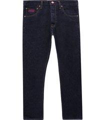 c17 jeans kaihara c-tapered fit japanese selvedge denim jeans | indigo | c17a2009-1185