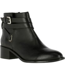 botin leather renes negro hush puppies
