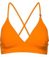 iconic bikini top bikinitop orange casall