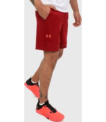 pantaloneta rojo under armour vanish woven