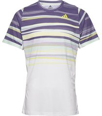 freelift tee h.rdy t-shirts short-sleeved multi/mönstrad adidas tennis