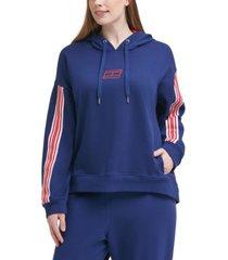tommy hilfiger sport plus size drop-shoulder hoodie