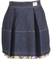 versace jeans couture cotton skirt