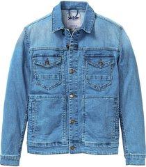 giacca di jeans elasticizzata (blu) - john baner jeanswear
