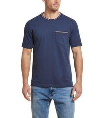 men's short sleeve brushed jersey crew t-shirt