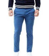 pantalón azul color siete chelsea