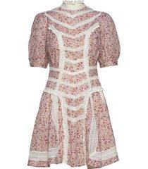 victorian organza mini dress korte jurk multi/patroon by ti mo