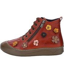 skor gemini tegelröd
