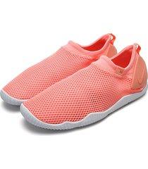 tenis running coral nike aqua sock 360