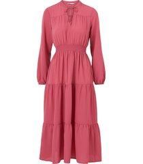 klänning onlnova lux l/s oli long dress solid wvn