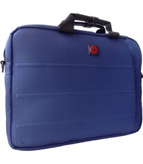 bolso para laptop swissbrand stanford briefcase-azul