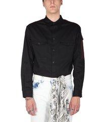 alexander mcqueen military shirt