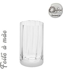 conjunto de 6 copos de cristal água 290ml