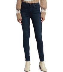 rag & bone women's nina high-rise skinny jeans - bayview - size 30 (8-10)