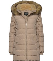 onlcamilla quilted coat cc otw gevoerd jack wit only