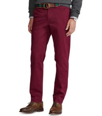polo ralph lauren men's straight-fit stretch chino pants