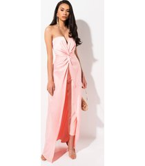 akira off into the sunset strapless jumpsuit