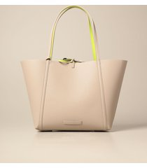 armani exchange tote bags armani exchange reversible shoulder bag in synthetic textured leather