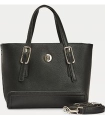 tommy hilfiger women's signature small tote black -