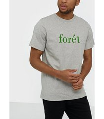 forét resin t-shirt t-shirts & linnen light grey melange