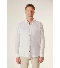 camisa ml linho reserva masculina