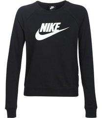 sweater nike w nsw essntl crew flc hbr