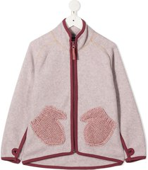 molo ushi mitten-pockets jacket - pink