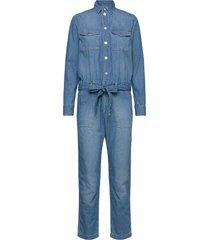 chleo blue jumpsuit blå pepe jeans london