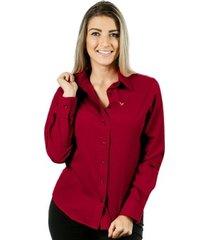 camisa pimenta rosada da alessa