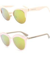 kit 2 óculos de sol prorider trap rosa claro - kittrap17