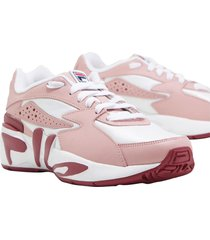 tenis fila mindblower color rosado femenino