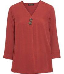 camicetta con maniche a 3/4 (rosso) - bpc selection