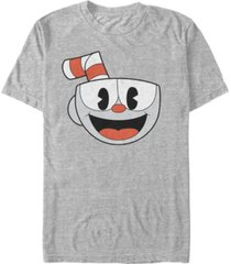 fifth sun men's big smiling face video game short sleeve t- shirt