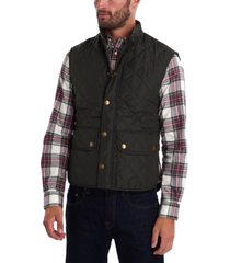 barbour men's lowerdale quilted vest