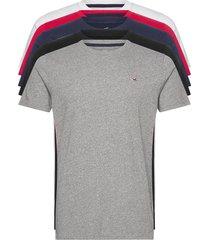 hco. guys knits t-shirts short-sleeved grå hollister